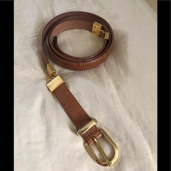 Talbots Accessories - Leather belt